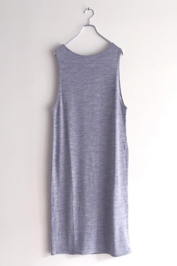 washable wool long dres