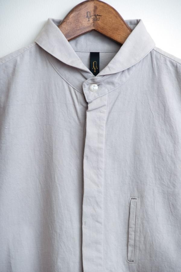 shawl collar shirt