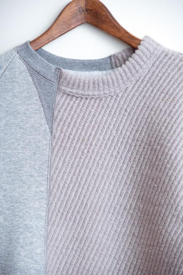 bias sweat knit