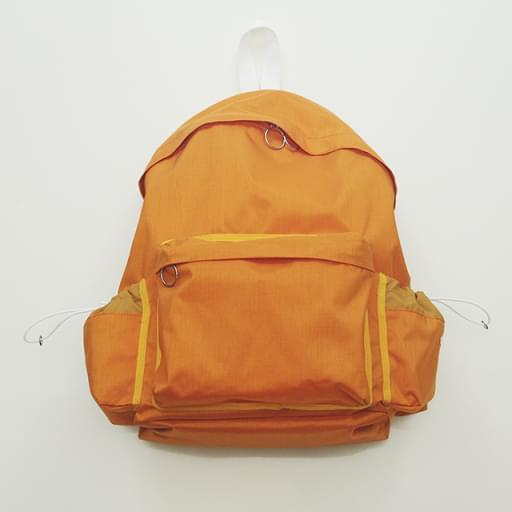 back pack/orange